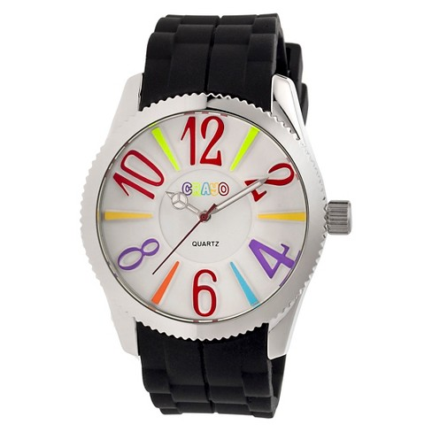 Women's Crayo Magnificent Watch with Silicone Strap - image 1 of 3