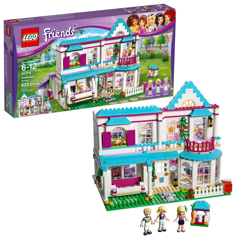 LEGO Friends Stephanie's House 41314 Build and Play Toy House with Mini...