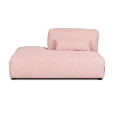 Tourbino Left Armless Chaise Modular Sofa - Poly & Bark