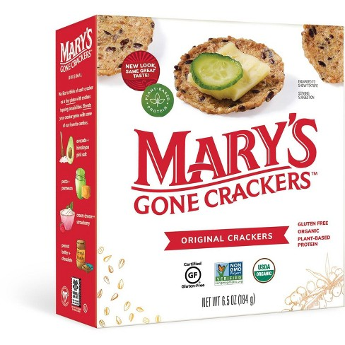 Mary's Gone Crackers Alt Snack Crackers - 6.5oz - image 1 of 4