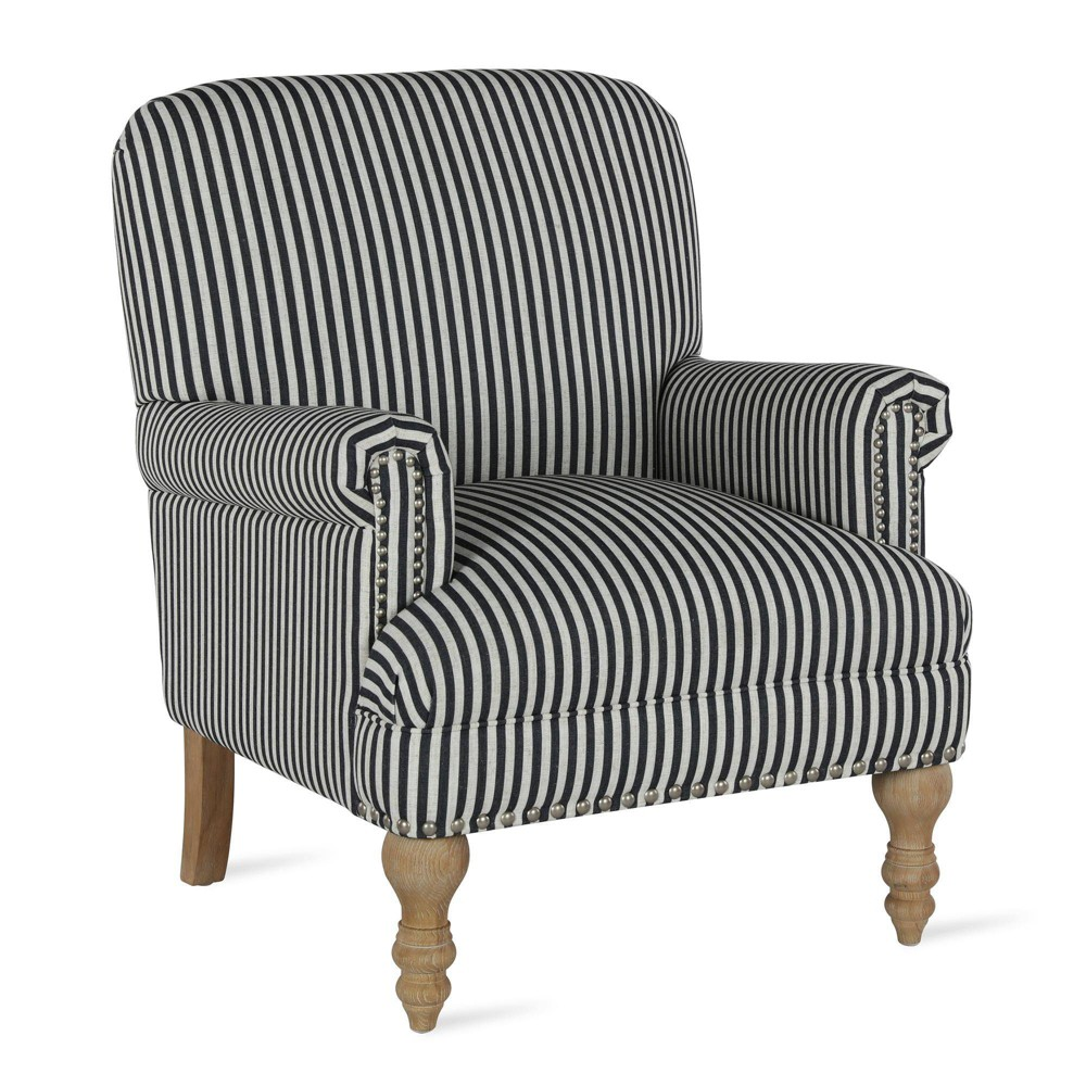 Ruby Accent Chair Black - Dorel Living