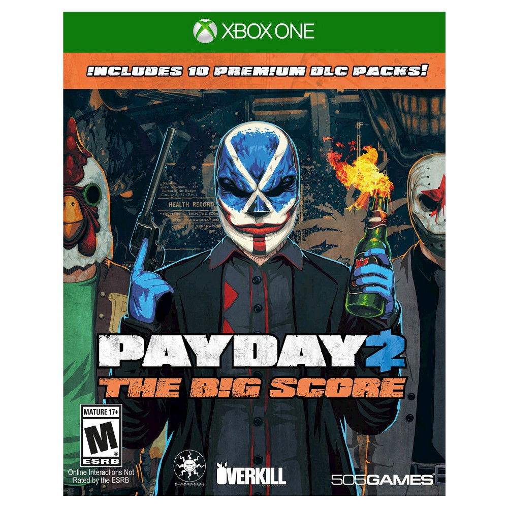 Pay Day 2: The Big Score Xbox One