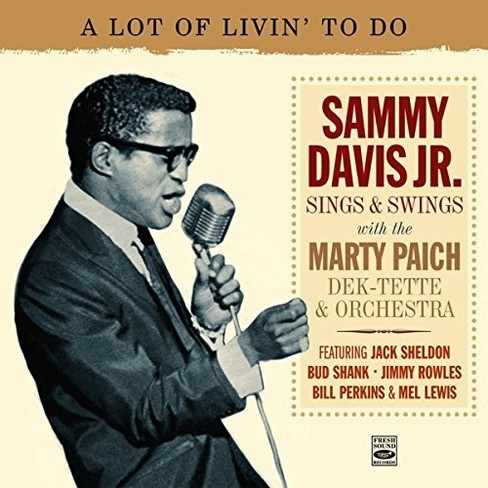 Sammy Jr. Davis - Lot Of Livin To Do 1961-63 (CD) - image 1 of 1