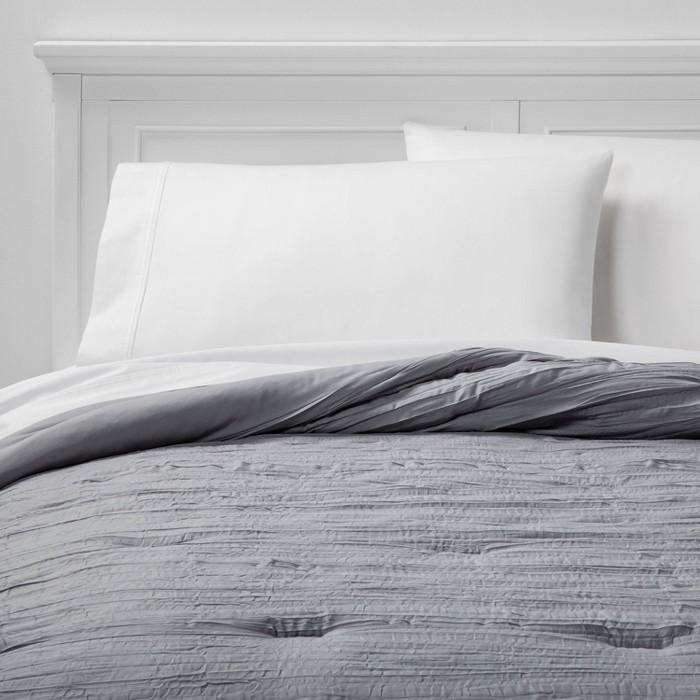 Crinkle Texture Comforter - Room Essentials™ - image 1 of 5