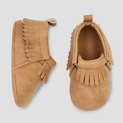 c1aed8c9d Baby Boys' Moccasin Crib Shoes - Just One You® made by carter's Brown 3