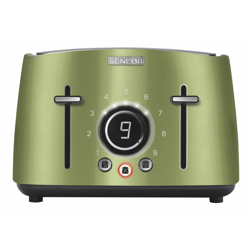 Sencor Metallic 4 Slice Toaster – Lime (Green) 54281264