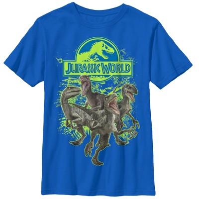 Boy's Jurassic World Velociraptor Squad T-Shirt