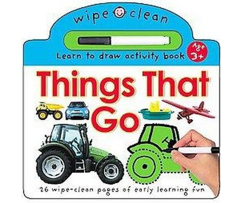 Things That Go : Learn To Draw Activity Book (Hardcover) (Robert Tainsh & Jo Rigg & Roger Priddy) - image 1 of 1