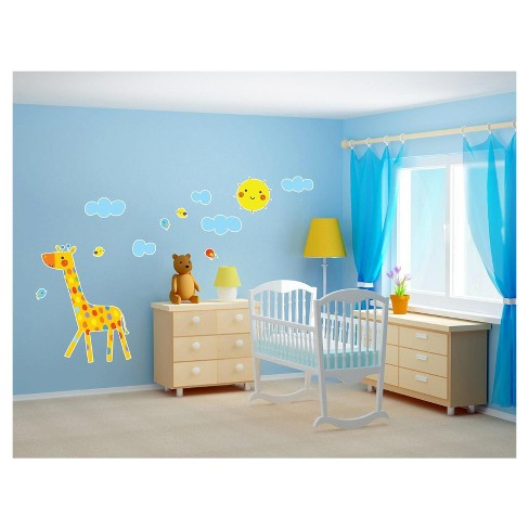 Giraffe Giant Wall Decal - image 1 of 1