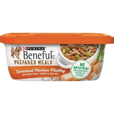 Purina Beneful Prepared Meals Wet Dog Food - 10oz