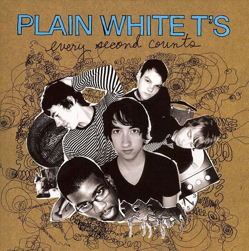 Plain White T's - Every Second Counts (New Version) (CD) - image 1 of 1
