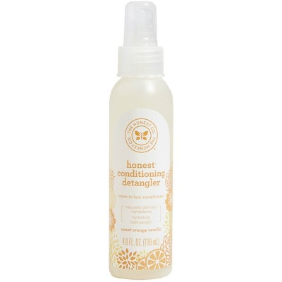 The Honest Company Conditioning Detangler & Fortifying Spray - 4 fl oz