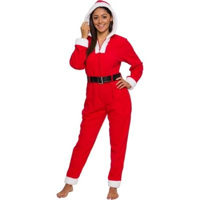 Funziez! Holiday Mrs. Claus Slim Fit Women's Novelty Union Suit