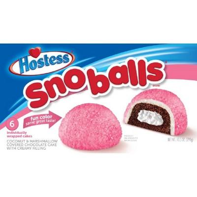 Baked Goods & Desserts: Hostess Snoballs