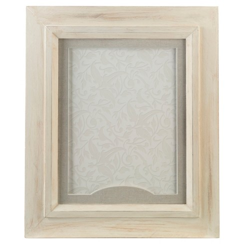 """2"""" x 3"""" Rustic White Frame for Signing Hearts - image 1 of 1"""