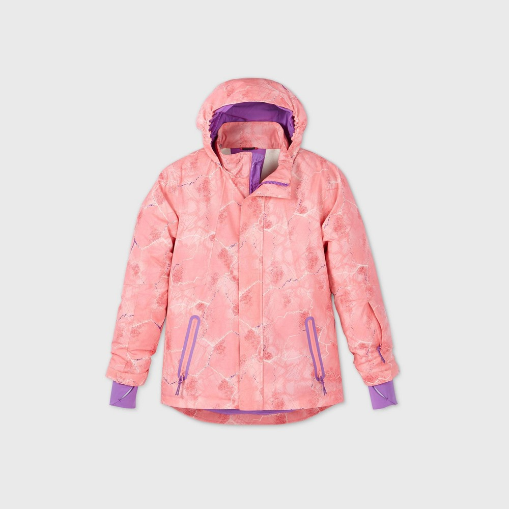 Girls 39 Anorak Snow Sport Jacket All In Motion 8482 Pink L