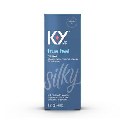 K-Y True Feel Premium Silicone Lube - 1.5oz
