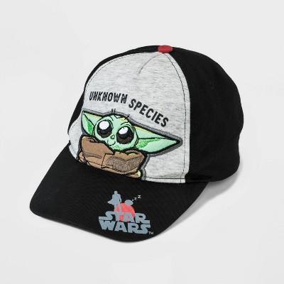 Boys' Star Wars Baby Yoda Hat - Black/Gray