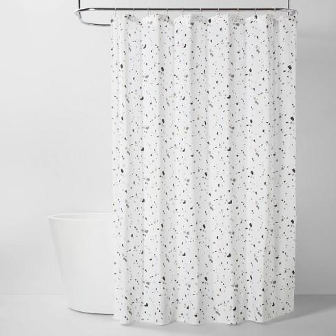 Terrazo Fabric Shower Curtain - Room Essentials™ - image 1 of 2