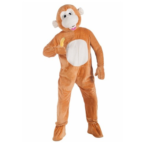 Monkey Mascot Adult Costume One Size - image 1 of 1