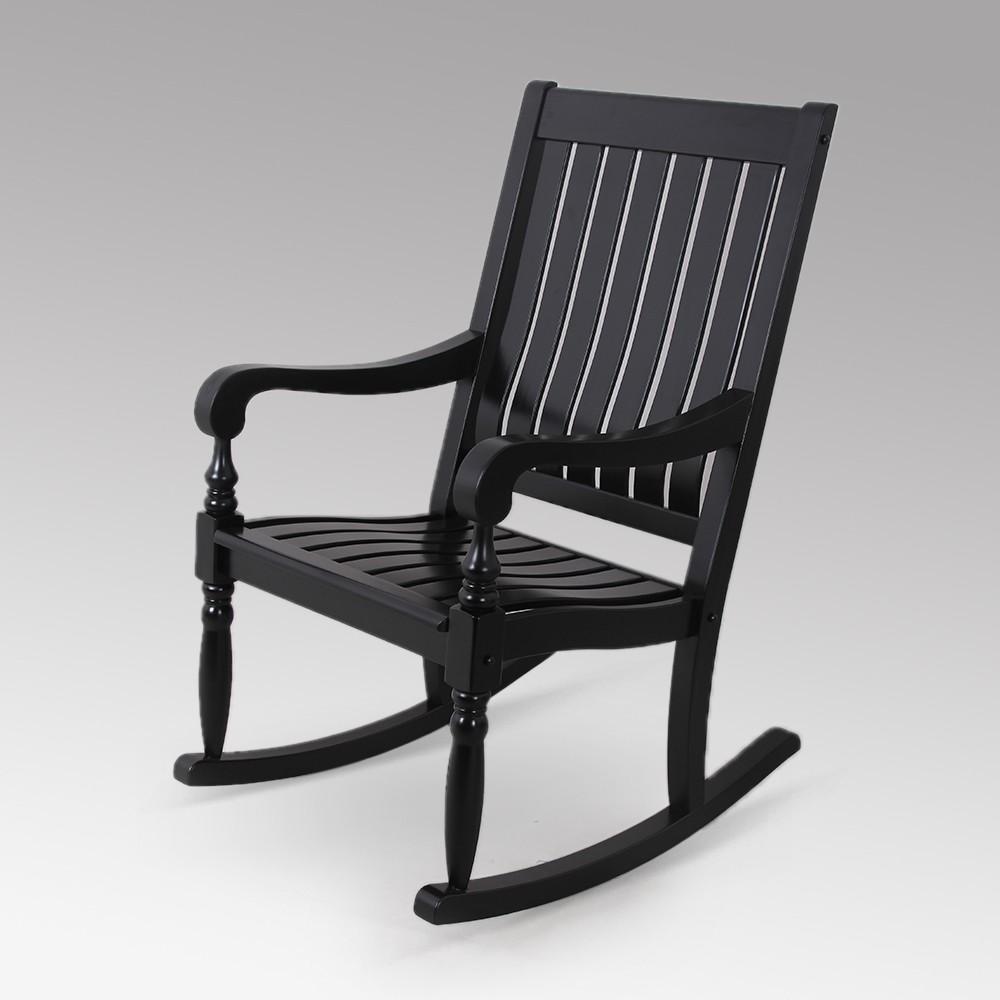 Lyon Rocking Chair - Black - Cambridge Casual