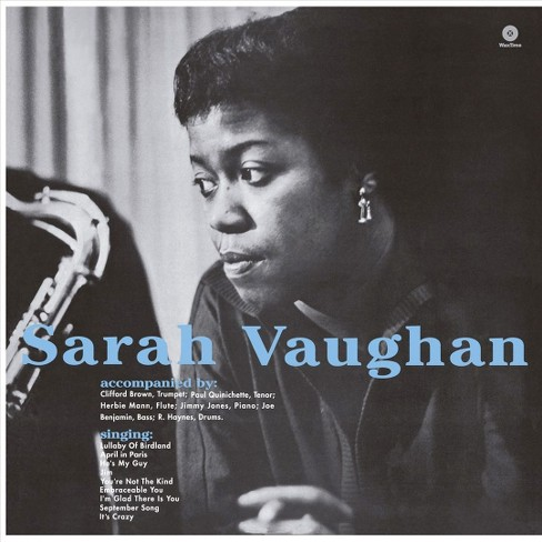 Sarah Vaughan - With Clifford Brown (Vinyl) - image 1 of 1