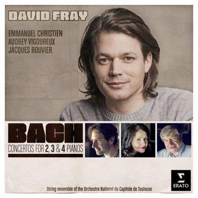 David Fray - Bach Concertos for 2, 3, and 4 Pianos (CD)