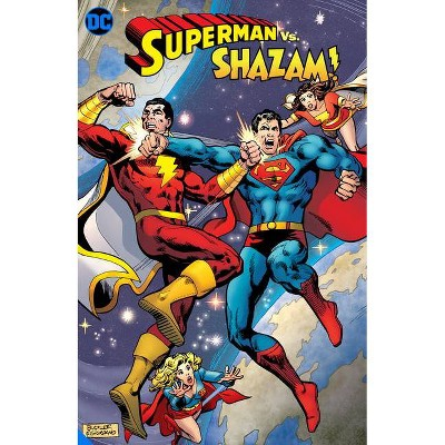 Superman vs. Shazam - by  Gerry Conway (Paperback)