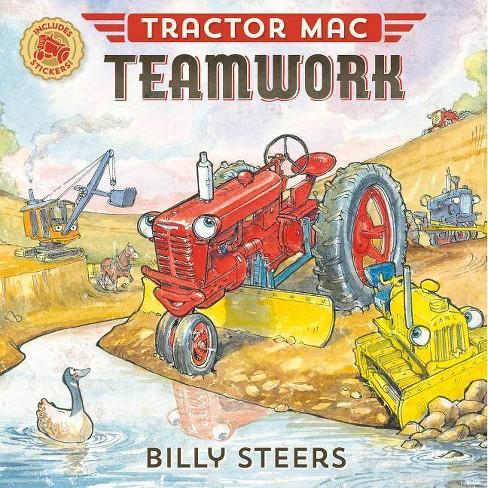 Tractor Mac Teamwork - by  Billy Steers (Paperback) - image 1 of 1