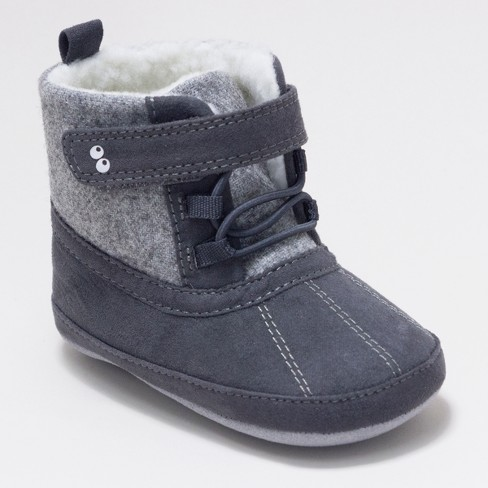 8f6d3e346 Baby Boys  Surprize By Stride Rite® Dean Mini Boots - Grey   Target stride