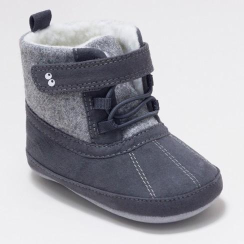 e0ad6e003661 Baby Boys  Surprize By Stride Rite® Dean Mini Boots - Grey   Target