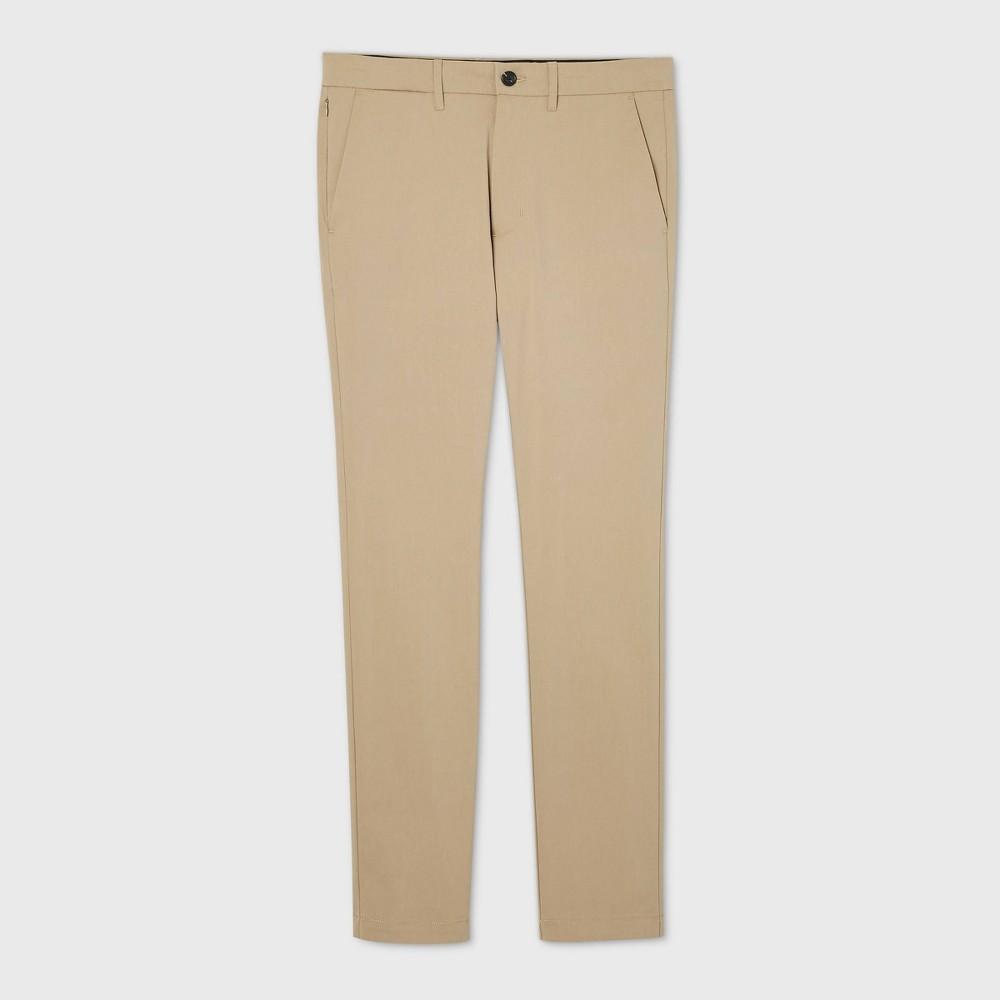 Top Men's Skinny Fit Hennepin Tech Chino Pants - Goodfellow & Co™