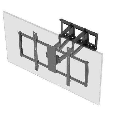 Monoprice EZ Series Full-Motion Articulating TV Wall Mount Bracket for TVs 60in to 100in, Max Weight 176 lbs, Extends fr - image 1 of 4