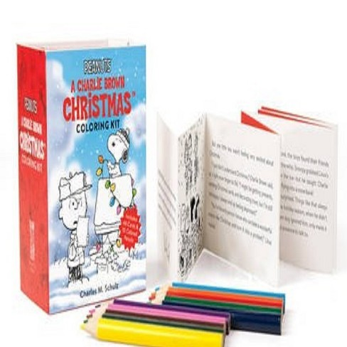 Peanuts : A Charlie Brown Christmas Coloring Kit - image 1 of 1