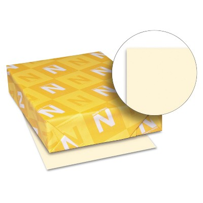 Neenah Paper Exact Index Card Stock 110 lbs. 8-1/2 x 11 Ivory 250 Sheets/Pack 49581
