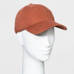 Women's Baseball Coral Hats - Universal Thread™ Berry One Size