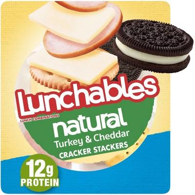 Oscar Mayer Lunchables Natural Turkey And Cheddar - 3.33oz