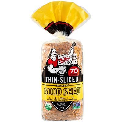 Dave's Killer Bread Organic Thin Sliced Good Seed Bread - 20.5oz