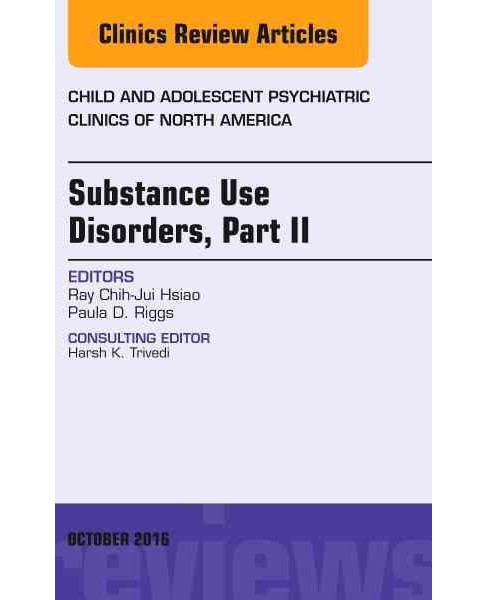 Substance Use Disorders, an Issue of Child and Adolescent Psychiatric Clinics of North America - image 1 of 1