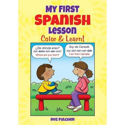 My First Spanish Lesson Dover Children S Bilingual Coloring Book Paperback Target Rocket record lets you perfect your spanish pronunciation. my first spanish lesson dover children s bilingual coloring book paperback