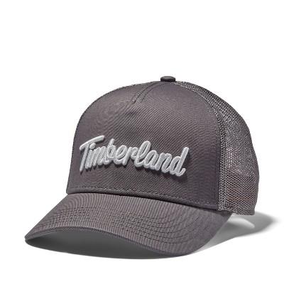 Timberland Men's 3D-Logo Trucker Hat