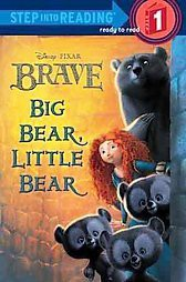 Brave Step Into Reading #1 (Disney/Pixar Brave)<BR/> (Illustrator)by Susan Amerikaner & RH Disney