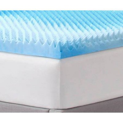 "3"" Reversible Memory Foam Mattress Topper - Comfort Revolution"