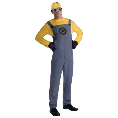 Adult Despicable Me 2 Minion Dave Ad Halloween Costume One Size