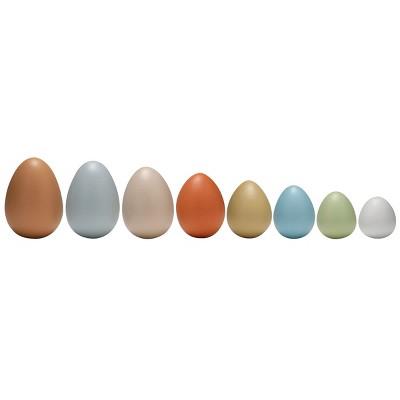 Yellow Door Size Sorting Eggs - Set of 8