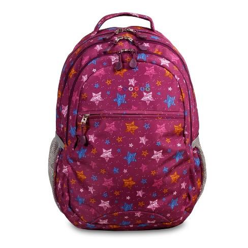 "JWorld 19"" Cornelia Laptop Backpack - Stars - image 1 of 4"