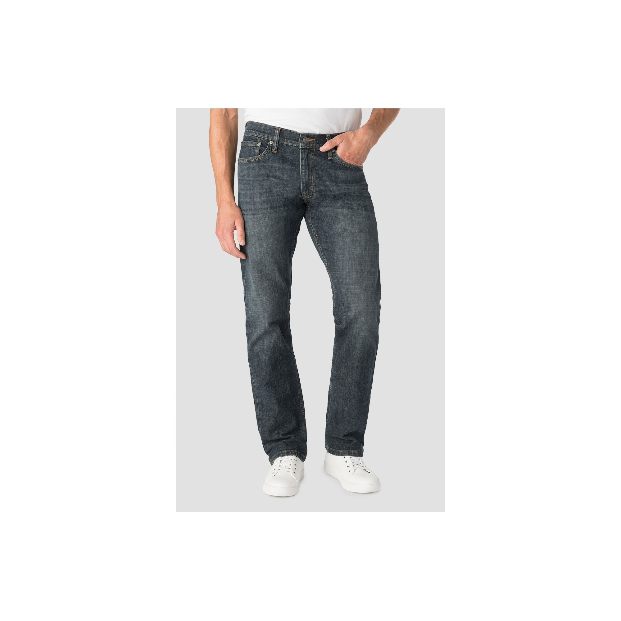 Denizen from Levi's Men's 218 Straight Fit Jeans - Grizzly 34x34