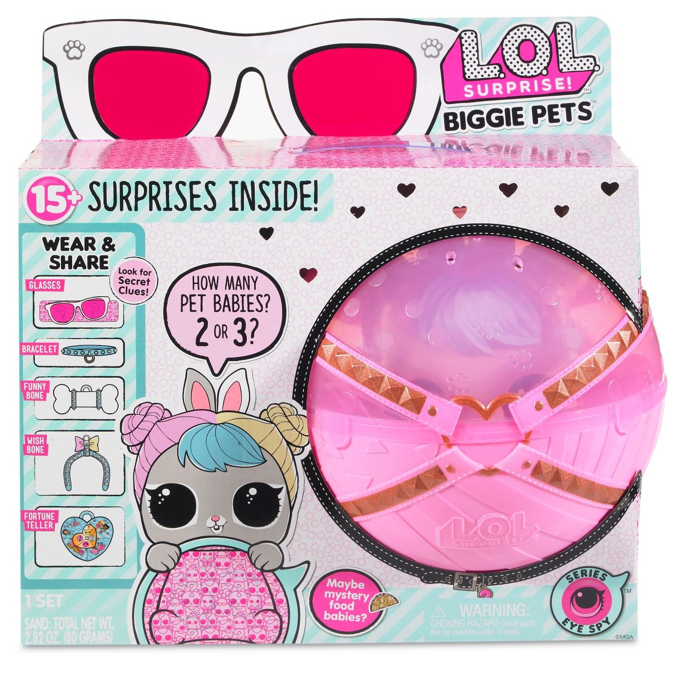 L.O.L. Surprise! Biggie Pets - Hop Hop Mini Backpack - image 1 of 4