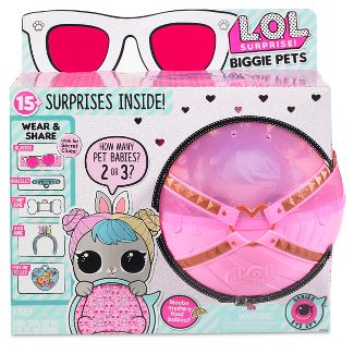 L.O.L. Surprise! Biggie Pets - Hop Hop Mini Backpack