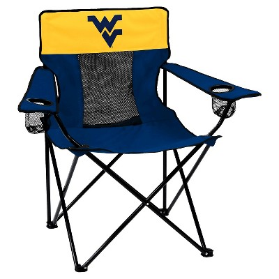 West Virginia Mountaineers Elite Folding Camp Chair
